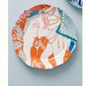 Anthropologie Elephant Plate-NIB-Eastern Animal